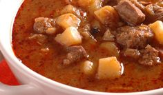 Jediná gulášová polievka, ktorá od nás dostáva 5 hviezdičiek! Cheeseburger Chowder, Food And Drink, Soups, Soup