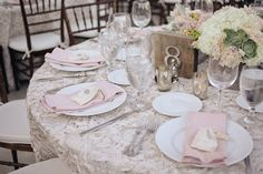 pretty pinks + soft floral table covering // photo by Edyta Szyszlo // floral design by Atelier Joya