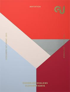 Designers Saturday 2015 | Gudbrandsdalens Uldvarefabrik as Invitation, Designers, Chart, Creative, Invitations