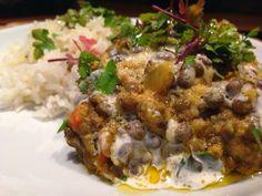 Patrícia is cooking.: Dahl de lentilhas verdes com arroz Thai {Vegan, se...