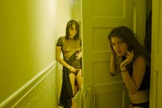 "fleeten: "" vivian-fu: "" Cheyenne and Eleanor, October 2014 by Vivian Fu "" miss u people. why it green """