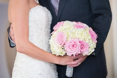 Jackie & Brendan Bolduc ~ Photo By Images by Amy Lynn ~ Flowers By Delano Floral