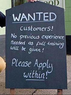 Creative Signs found at Bars