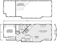 275 Sq. Ft. Tiny House with Separate Industrial Kitchen   Pinterest ...