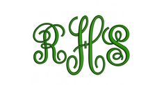 Large Fancy Monogram Embroidery Font Upper Case Satin Stitch Digitized4 Icnhes5 Inches6 InchesAttention: Some of 5 & 6 letters will come as Split satin due to the width of the letter. Please see picture in the description.You will receive a zip file containing following forma