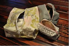 DIY travel bags, I have to make these!