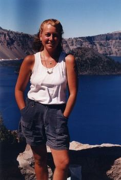 Cheryl Strayed during her PCT hike.