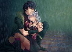 Raining in darkness by ChiNoMiko.deviantart.com on @deviantART - love the art!