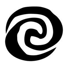 Moana Symbol Stencil