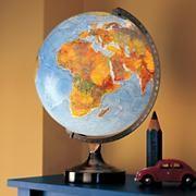 Illuminated World Globe Lamp Nightlight