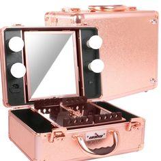 valise maquillage professionnel miroir valise de maquillage pinterest valise de. Black Bedroom Furniture Sets. Home Design Ideas