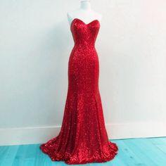Glitter Sequins Sweetheart Mermaid Bridesmaid Dresses