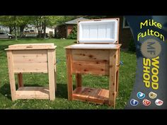 How to Build a Rustic Cooler -- by Home Repair Tutor - YouTube