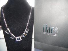 Colgante Cristal Swarovski Plata 925 Aleacion de Platino $39.990
