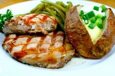 Easy Baked Pork Chop Recipes  Full recipe: http://www.looplane.com/cuisine/entrees/easy-baked-pork-chop-recipes/