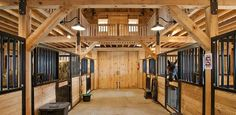 loft above stables | has a loft above the stalls, you can easily throw hay down
