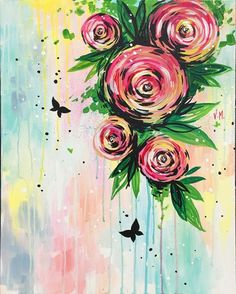 Hey! Check out Rose Symphony at Hopscotch Tavern - Paint Nite Event