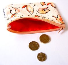 Fox Coin Purse by JenMoulesDesigns on Etsy
