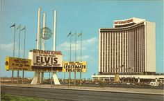 The Las Vegas Hilton, when Elvis was playing Vegas.  Saw his 1970 show ...absolutely awesome