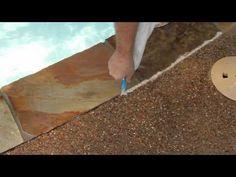 How To Install UltimatePoolSeal™ - Pool Deck Seal - YouTube Pool Ideas, Yard Ideas, Deck Seal, Indoor Plants, Indoor Outdoor, Swimming Pool Decks, Pool Waterfall, Bird Feeder, Home Improvement Projects