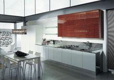 Italian Kitchen Interior Modern Design