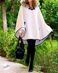El Mundo de AiA: Moda - Un Poncho diferente
