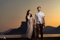 Sanjana ~ Puneeth – Studio A Indian Wedding Photography, Candid Photography, Wedding Photography Inspiration, Wedding Inspiration, Couple Portraits, Couple Photos, Telugu Wedding, Wedding Silhouette, Outdoor Shoot