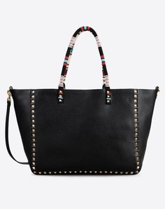 Discover the details of the Valentino Garavani Rockstud Double Reversible Medium  Tote for Women. Find out all the information at Valentino Online Boutique  ...