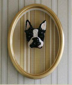 french bulldog taxidermy head - Google Search