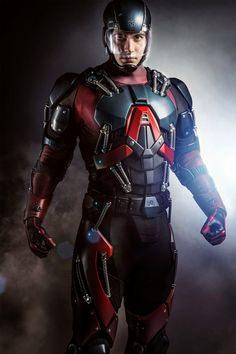 Arrow - Season 3 - First Look at Brandon Routh in Atom Costume | Spoilers