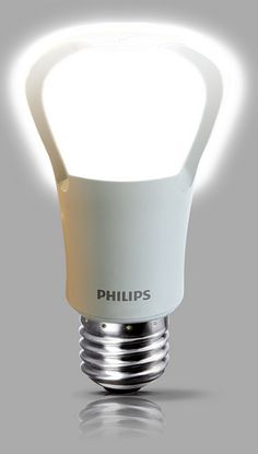 Philips 75-watt LED bulb. For those times I forget to turn a light off... these lights use next to nothing on electricity (even compared to compact-fluorescent bulbs) and last up to 17 years.