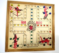 How to make an aggravation board game a do it yourself project for original wahoo board game indian chief creative designs 16 marbles vintage family game by urbanrenewaldesigns solutioingenieria Gallery