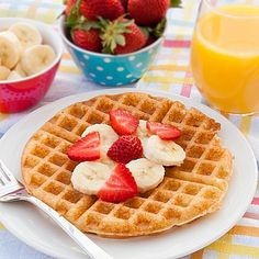 Tutti Frutti Waffles made with a secret ingredient | realmomkitchen.com