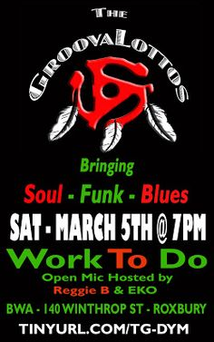 The GroovaLottos: Bringing The PHUNK To WORK TO DO - 3/5