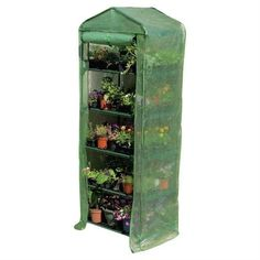 5-Tier Sturdy Growing Rack Planter Stand Greenhouse with Reinforced Cover - Quality House