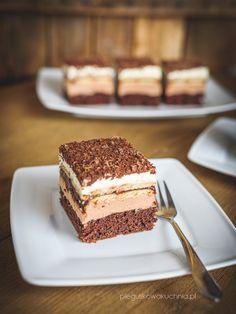 ciasto Kubanka Vegan Ramen, Ramen Noodles, Piece Of Cakes, Nutella, Sweet Recipes, Tiramisu, Food And Drink, Chocolate, Baking