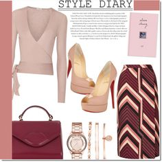 PEEP TOE by samha on Polyvore featuring moda, Etro, Topshop, Christian Louboutin, Lulu Guinness, Anne Klein, Marc by Marc Jacobs, Envi and peeptoe