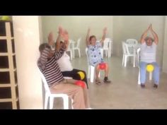Gimnasia para adultos mayores / Fitness for seniors - YouTube