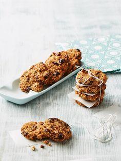 Gesunde Kekse aus Haferflocken
