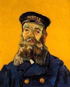 Vincent Van Gogh - Post Impressionism - Arles - Portrait de Roulin