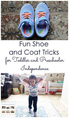 Fun shoe and coat tricks to help toddlers and preschoolers get dressed independently; post includes video and helpful poem plus link to roundup of Montessori-inspired activities for care of self - Living Montessori Now Source by debchitwood shoes Montessori Baby, Montessori Activities, Toddler Activities, Montessori Bedroom, Montessori Homeschool, Homeschooling, Preschool At Home, Toddler Preschool, Toddler Classroom