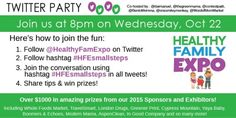 #HFESmallSteps  Twitter Party on  10/22/2014  at  11:00pm   ET - http://www.thisbirdsday.com/hfesmallsteps-twitter-party-on-10222014-at-1100pm-et/ #TwitterParty