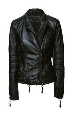 Balmain Fringed leather biker jacket | Coats etc | Pinterest ...