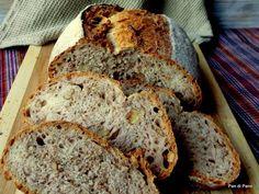 Pan di Pane: Ricetta Pane con le Noci a lievitazione naturale