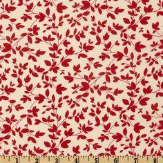 RED - Moda Oh Deer! Twiggy Cherry