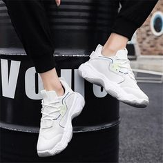 624a2951196 Man s Mesh Cloth Breathable Thick Soled Sport Casual Shoes. Thedarla.  KevisbopSneaker