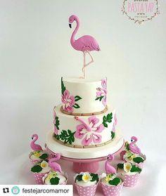 #flamingos #Repost @festejarcomamor (@get_repost) ・・・ Essa inspiração é lá da Turquia e estou apaixonada pela beleza desse trabalho. Por @banabirpastayap #festejarcomamor #flamingos #boloflamingo #flamingofestejarcomamor #festaflamingo #festaflamingos #boloflamingos #festa