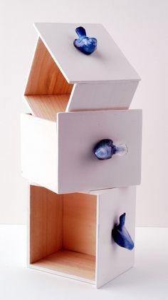 so cutre - birdy drawer knobs