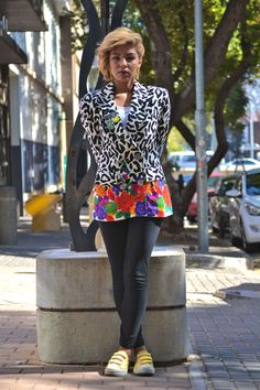 Mzansi's fashionista are not afraid to wear multiple prints - South African Fashion.