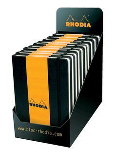 Yes I already own four or five Rhodia A5 Webnotebooks...but I need note of them in both lined and gridded formats.